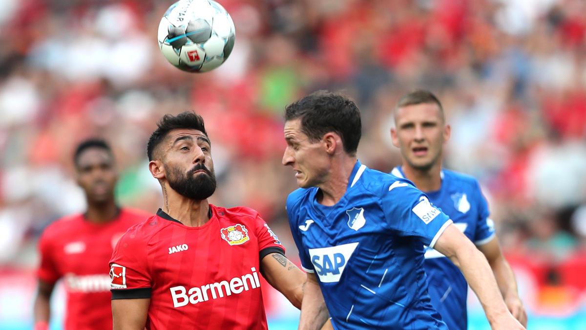 Beim Gastspiel der TSG Hoffenheim bei Bayer Leverkusen gab es keinen Sieger