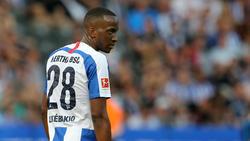 Dodi Lukebakio muss sich bei Hertha BSC steigern