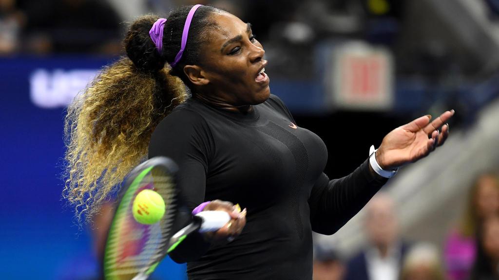 Bei den USOpen auf Rekordjagd: Serena Williams