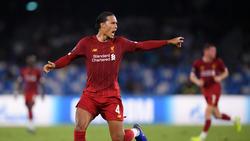Virgil van Dijk könnte Lionel Messi und Cristiano Ronaldo ausstechen