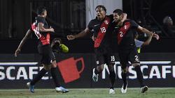 Luis Abraham marcó el gol de la victoria peruana.