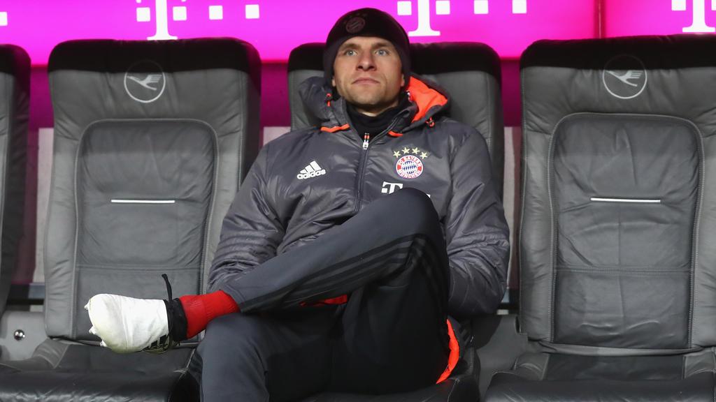 Thomas Müller will um seinen Stammplatz kämpfen