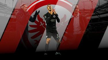 André Silva überzeugt bislang bei Eintracht Frankfurt nicht