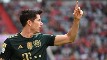 Robert Lewandowski hat mit dem FC Bayern alles gewonnen