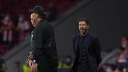 Kein Freund des Handschlags nach dem Spiel: Atleticos Trainer Diego Simeone