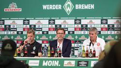 Trainer von Fortuna Düsseldorf: Friedhelm Funkel (r.)