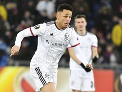 Noah Okafor verlässt den FC Basel in Richtung Salzburg