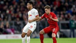 Leipzig verlängert den Vertrag mit Tyler Adams (l.)