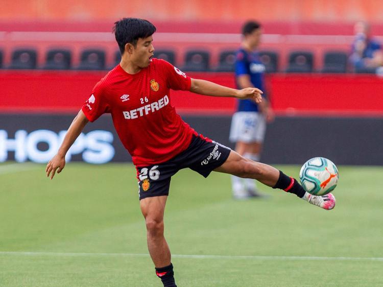 Take Kubo hizo el 2-0 en las Islas Baleares.