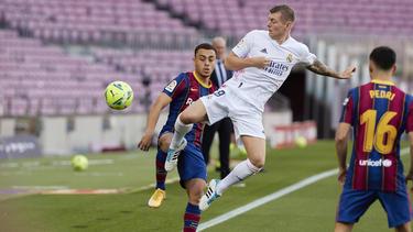 Toni Kroos zeigte eine Top-Leistung im Clásico gegen Barca