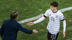 Bundestrainer Joachim Löw blickt weiter optimistisch in die Zukunft