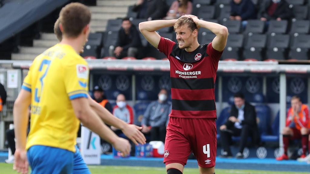 Bittere Pleite für den 1. FC Nürnberg bei Eintracht Braunschweig