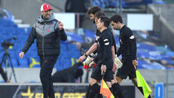 Der FC Liverpool ließ Punkte gegen Brighton & Hove Albion liegen