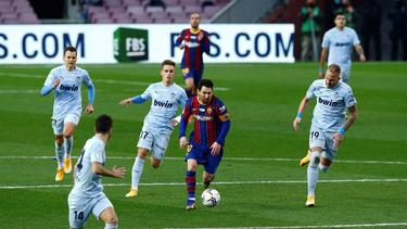 Lionel Messi stellt mit seinem Treffer Pelés Rekord ein