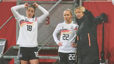 Hofft auf den EM-Titel: Martina Voss-Tecklenburg