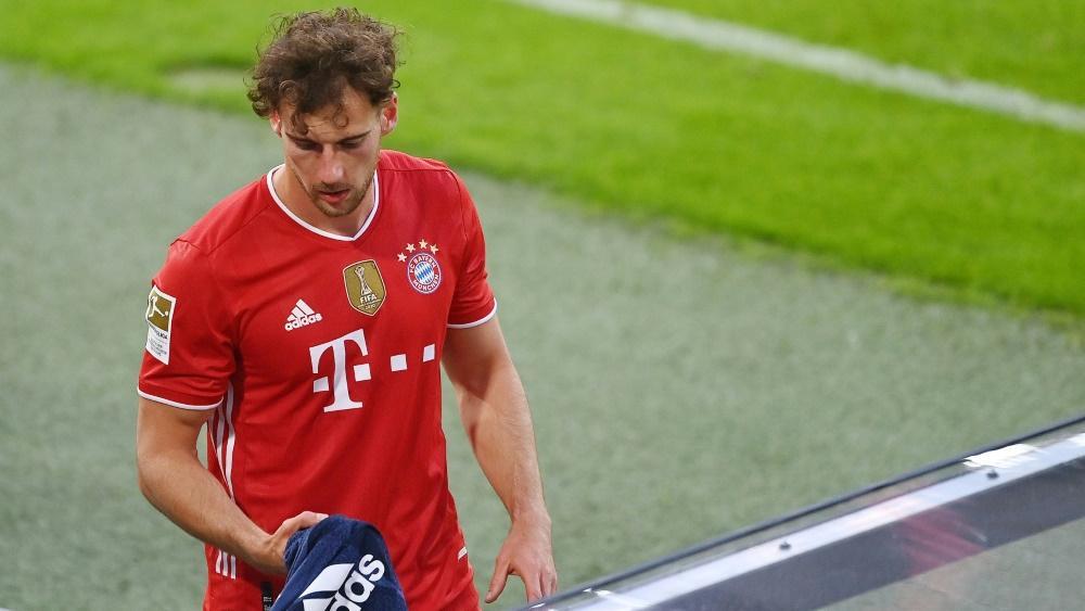 Leon Goretzka verletzte sich im Trikot des FC Bayern