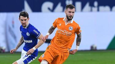 Wurde mit dem FC Schalke 04 in Verbindung gebracht: Marcel Hartel (r.) von Arminia Bielefeld