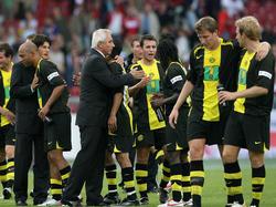 Schwarz-gelber Siegestaumel
