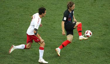 Modric falló un penalti en la prórroga. (Foto: Getty)