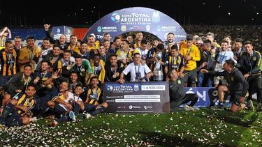 Central volvió a festejar un título después de 23 años. (Foto: @Copa_Argentina)