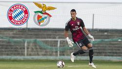 Benfica-Torwart Odisseas Vlachodimos trifft am Dienstag in der Champions League auf den FC Bayern