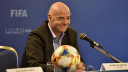 Drückt die Klub-WM-Reform durch: Gianni Infantino