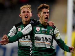 Marcel Ziegl und Ante Bajic gelang je ein Treffer beim 3:0 gegen den FAC