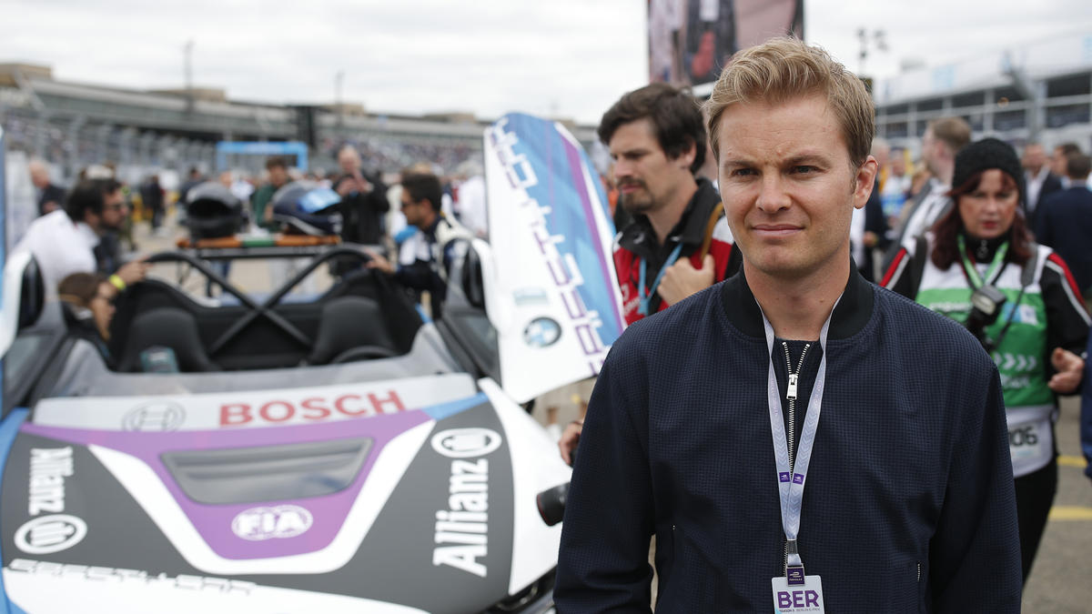 Nico Rosberg spricht über den Ferrari-Crash