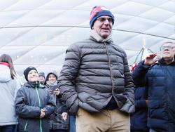 Bayern-Boss Karl-Heinz Rummenigge war mit dem Spiel des FCB vollends zufrieden