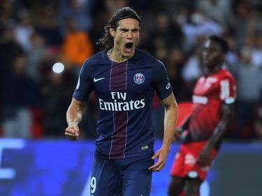 Cavani erzielte einen Treffer gegen Dijon