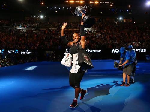 Zurück an der Spitze: Serena Williams
