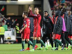 Ronaldo war gegen Ungarn im Doppelpack erfolgreich