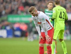 Timo Werner war nach der Pleite in Bremen bedient