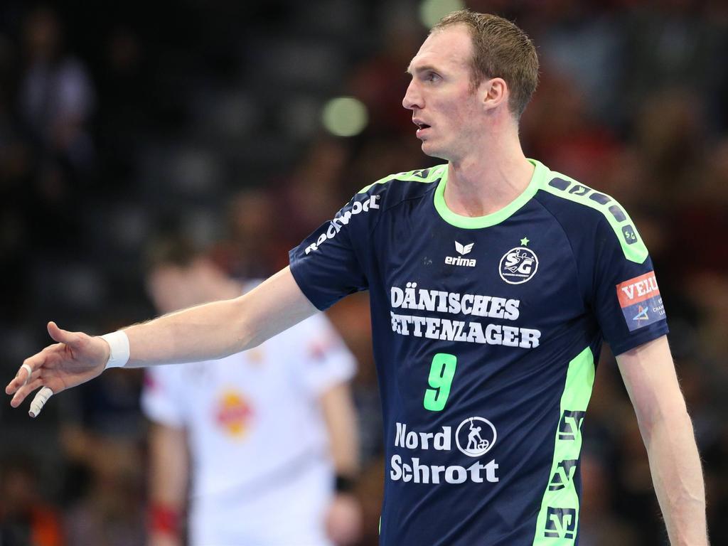 Holger Glandorf fällt mit einer komplizierten Daumenverletzung lange aus