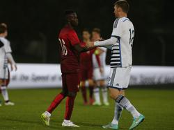 Bruma (l.) ist derzeit mit der U21-Auswahl Portugals unterwegs