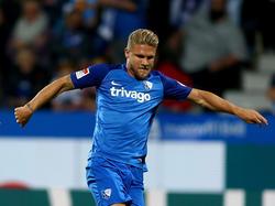 Jannik Bandowski und der VfL Bochum stehen in der zweiten Runde des Pokals