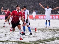 Niklas Füllkrug traf zum zwischenzeitlichen 1:0 für Hannover