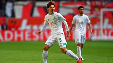 Osako traf für den SV Werder gegen Eibar