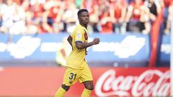 Fati avancierte zum jüngsten Torschützen des FC Barcelona