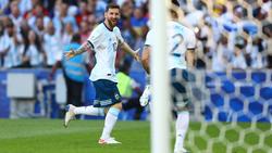 Lionel Messi hat das Tor des Tages erzielt