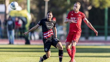 Erzielte das einzige Tor beim Testspiel der Düsseldorfer gegen Twente Enschede: Steven Skrzybski