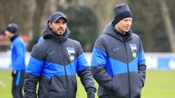 Alexander Nouri will Hertha BSC zu einem Sieg führen