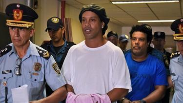 Ronaldinho reiste mit gefälschten Papieren nach Paraguay ein