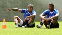 Kommen aus der Jugend von Hertha BSC:Kevin-Prince und Jérôme Boateng