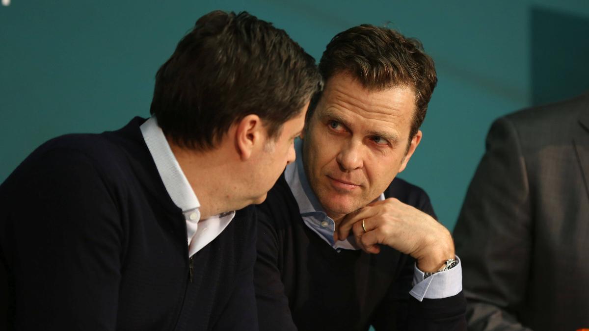 Sieht den HSV dem eigenen Anspruch nach in der Bundesliga: Oliver Bierhoff
