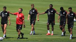 Der FC Bayern bereitet sich auf die Champions League vor