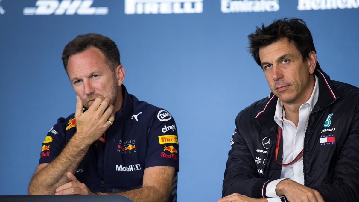 Christian Horner (li.) will die Formel-1-WM mit Red Bull gewinnen