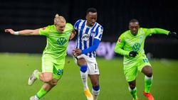 Kein Sieger im Duell zwischen Hertha BSC und dem VfL Wolfsburg