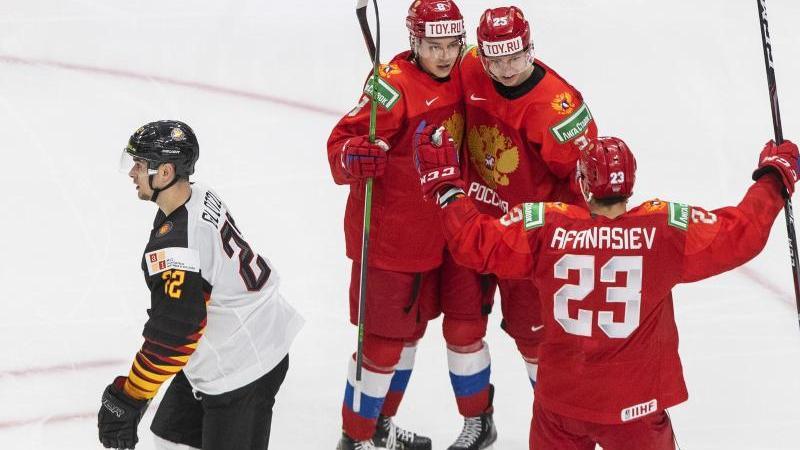 Bittere Niederlage für die deutschen Eishockey-Junioren