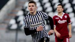 Christos Tzolis wird beim BVB  und Borussia Mönchengladbach gehandelt